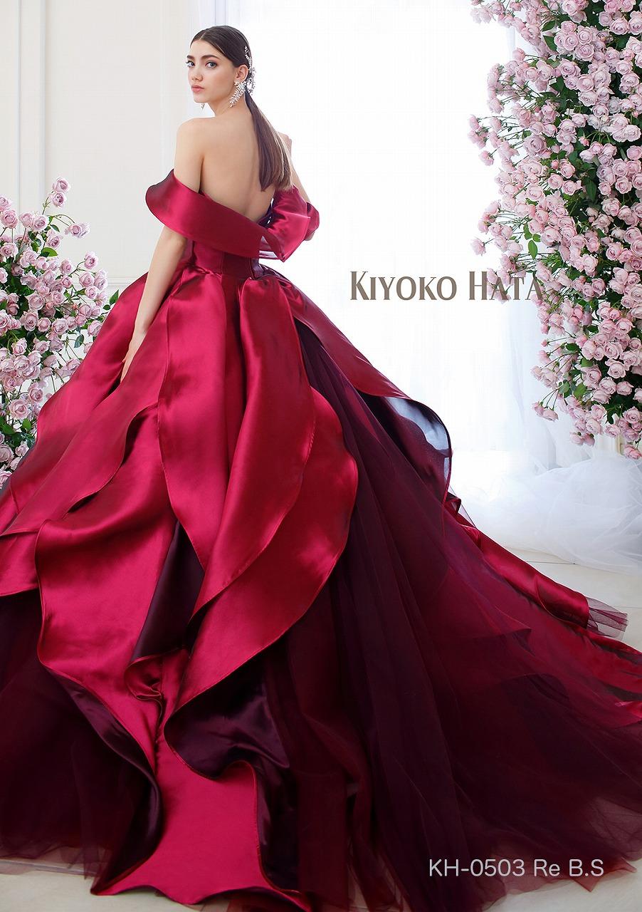 新作ドレス入荷のお知らせ KIYOKO HATA KH-0503 レッド