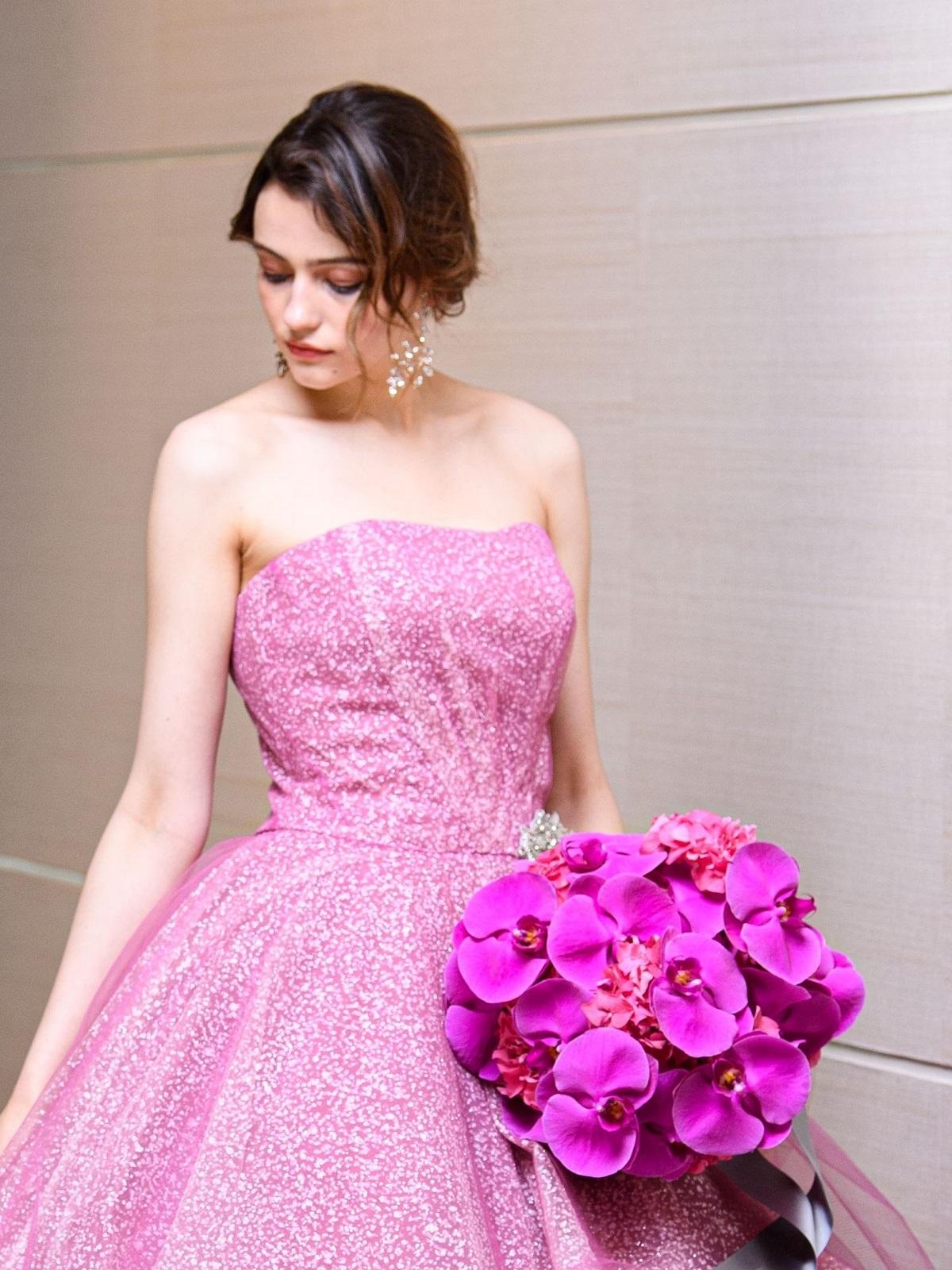 ALISA glitter rose